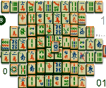 Jeux de mahjong offert par - Mahjong noir et blanc ...